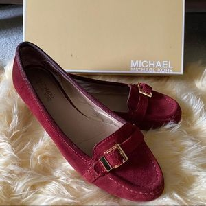 Michael Michael Kors Roary Suede Flats
